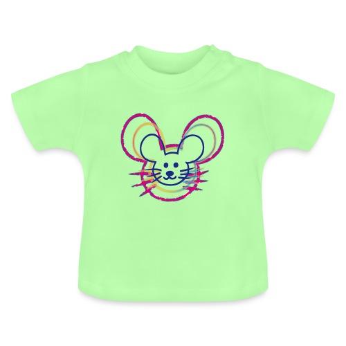 kleines Mausgesicht/Mäuse - Baby T-Shirt