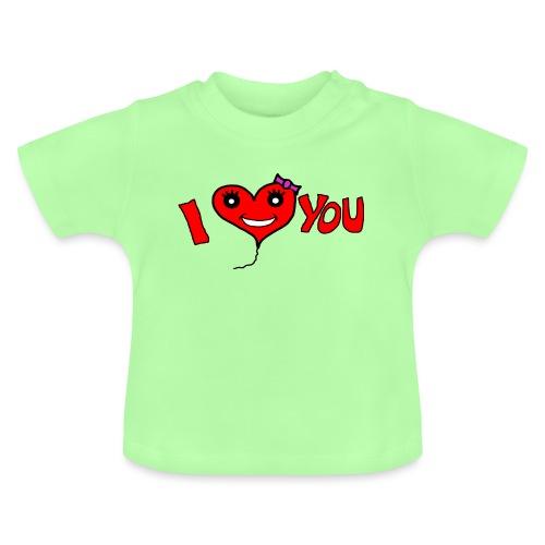 ich liebe dich - Baby T-Shirt