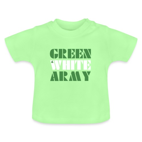 GREEN & WHITE ARMY - Baby T-Shirt