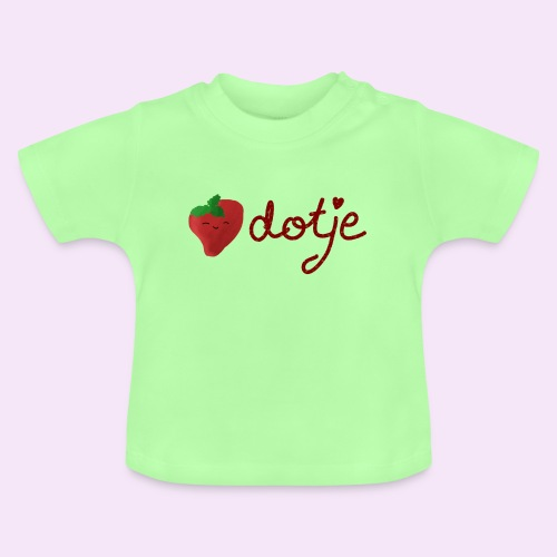 Baby aardbei Dotje - cute - Baby T-shirt
