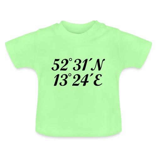 Berlin Koordinaten - Baby T-Shirt