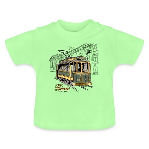 Helsingin Vanha Raitiovaunu, Tekstiilit, tuotteet - Vauvan t-paita