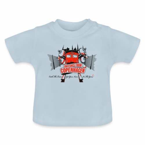 Greetings from CPH ver01 - Baby T-shirt