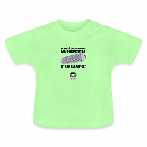 INTERCOOLER (nero) - Maglietta per neonato