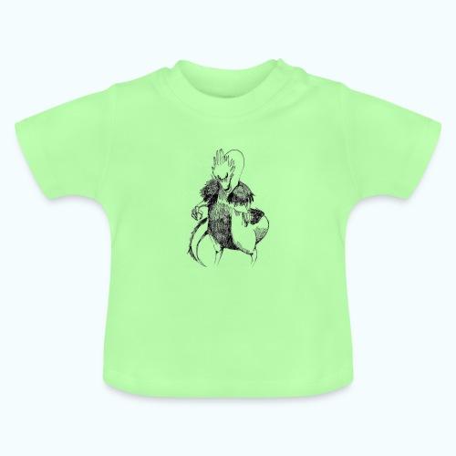 DRAGON STYLE real drawing - Baby T-Shirt