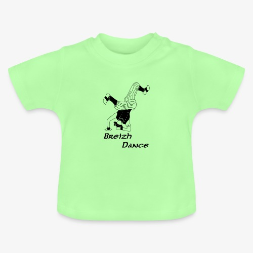 BZH Atipik Design - Breizh Dance - T-shirt Bébé