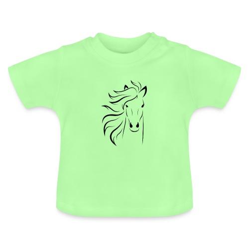 cheval - T-shirt Bébé