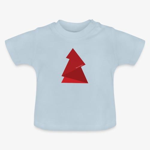 red triangles fir - Baby T-Shirt