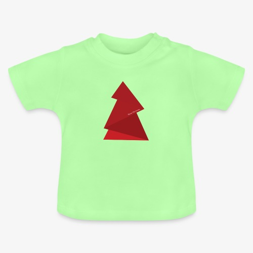 red triangles fir - Baby T-Shirt