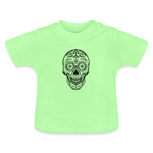 Skull black - Baby T-Shirt