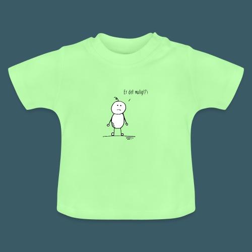 Er det mulig - Baby-T-skjorte