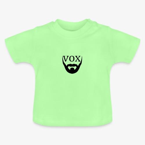 Logo Vox Nero - Maglietta per neonato