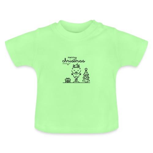 Noël reindeer 2 - T-shirt Bébé