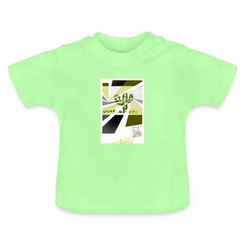 3D kaptus - Baby-T-shirt
