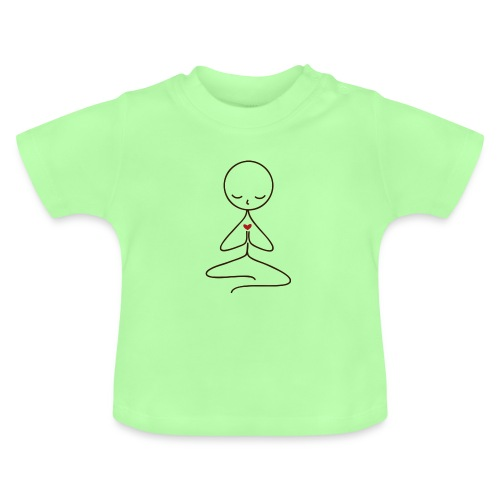 Peace & Love - Baby-T-shirt