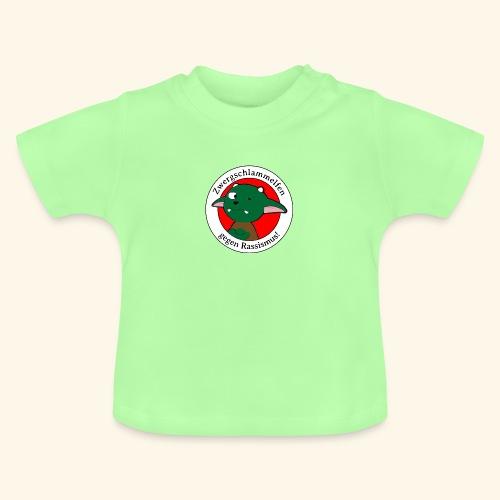 Zwergschlammelfen gegen Rassismus - Baby T-Shirt