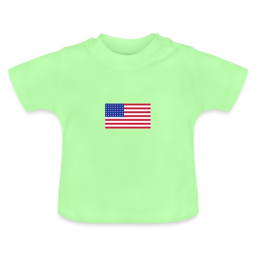 AVM 48 star flag in 3 color RGB VECTOR - Baby T-shirt