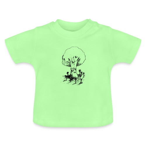 Sage Tree - Baby T-Shirt