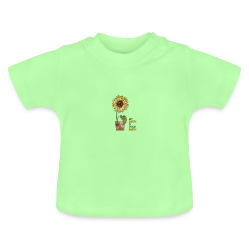 My earth is your earth - Baby T-Shirt