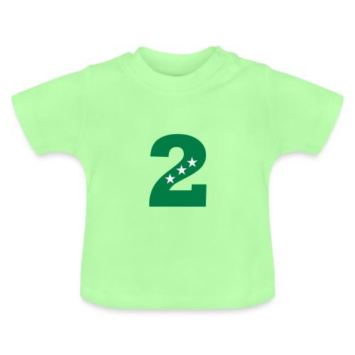 Geburtstag 2nd second 2.Geburtstag 2farbig - Baby T-Shirt