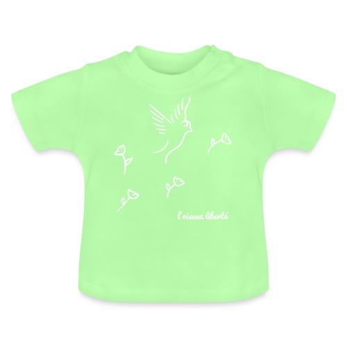 L'oiseau liberté (version light) - T-shirt Bébé