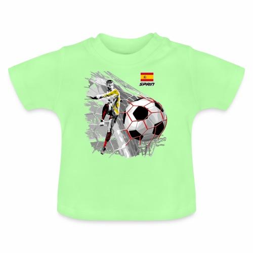 FP22F 02 SPAIN FOOTBALL - Vauvan t-paita
