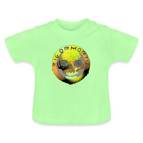 Rigormortiz Metallic Yellow Orange Design - Baby T-Shirt