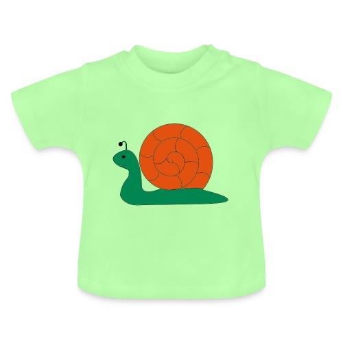 Die Schnecke, die Schnecke - Baby T-Shirt