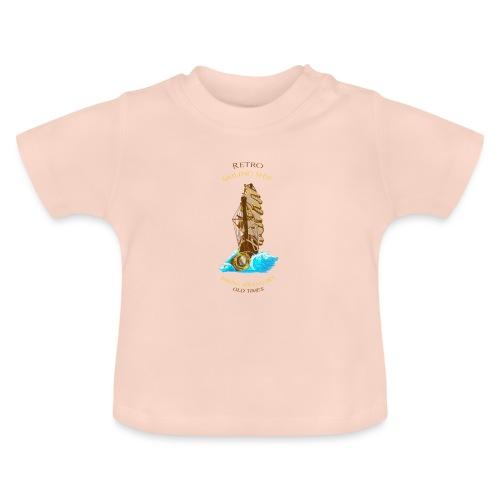 Retro-Segelschiff - Baby T-Shirt