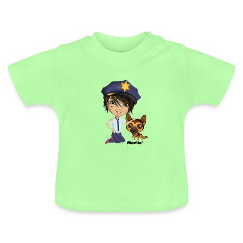 Jack and Dog - autorstwa Momio Designer Cat9999 - Koszulka niemowlęca