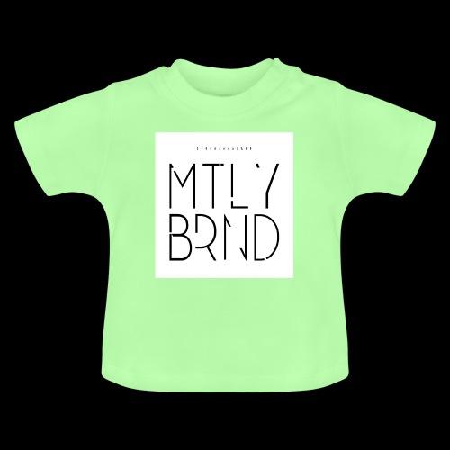 white logo transparent - Baby T-Shirt