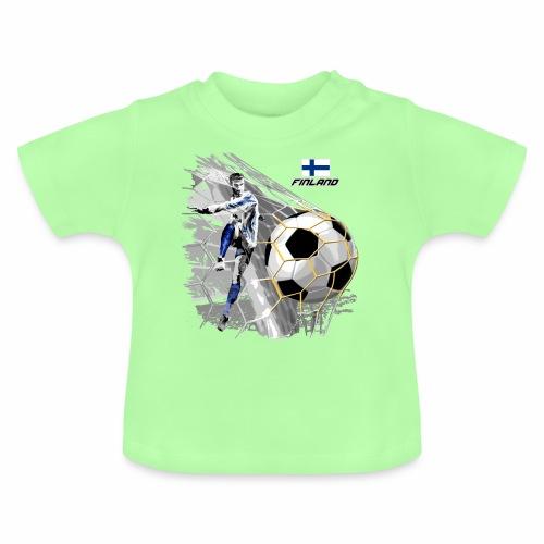 FP22F 05 FINLAND FOOTBALL - Vauvan t-paita