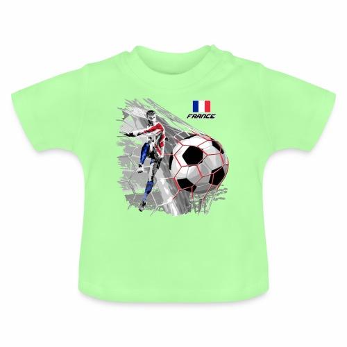 FP22F 03 FRANCE FOOTBALL - Vauvan t-paita