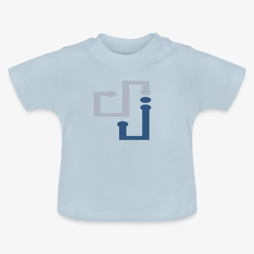 Amo la música DJ - Camiseta bebé