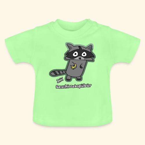 Geschirrabspülbär - Baby T-Shirt