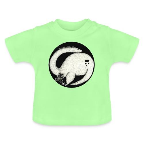 Nessie Durmiente (Monstruo del lago Ness) - Camiseta bebé