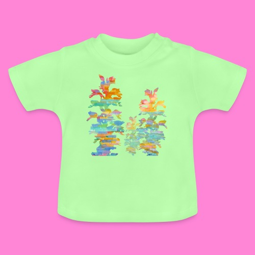 Orchid painting - Baby T-shirt