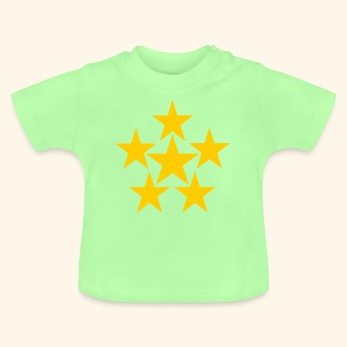 5 STERN gelb - Baby T-Shirt