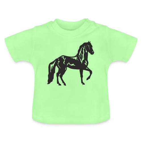 Cheval noir - T-shirt Bébé