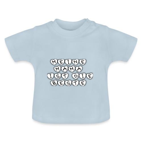 MeineMamaistdiebeste png - Baby T-Shirt