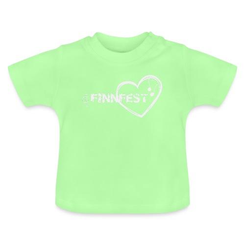 Finnfest white - Vauvan t-paita
