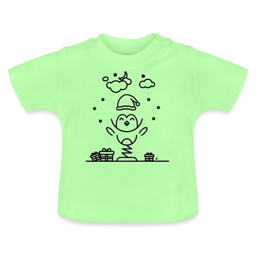 Noël pengouin 3 - T-shirt Bébé
