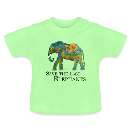 Save The Last Elephants - Baby T-Shirt