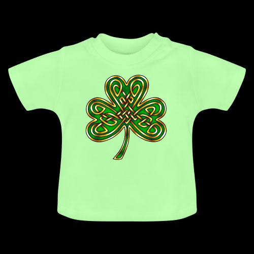 Celtic Knotwork Shamrock - Baby T-Shirt