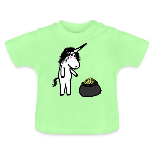 Oro unicorno - Maglietta per neonato
