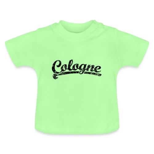 Cologne Classic Vintage Schwarz - Köln Design - Baby T-Shirt