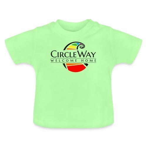 Circleway Welcome Home Logo - schwarz - Baby T-Shirt