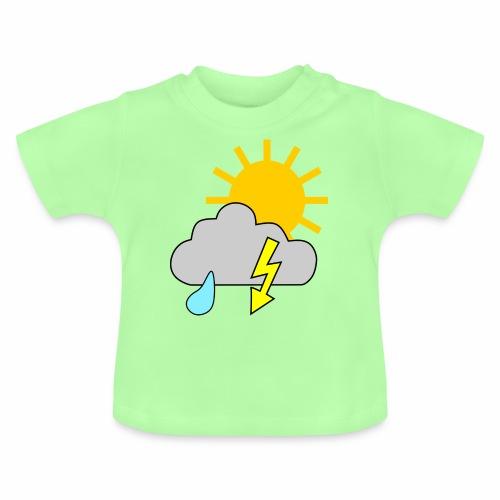 Sun - rain - thunderstorm - Baby T-Shirt