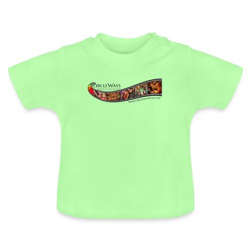 Circleways Filmrolle schwarz - Baby T-Shirt