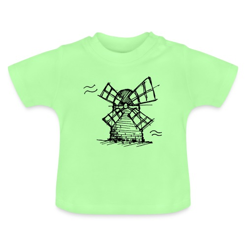 Windmill - Baby T-Shirt